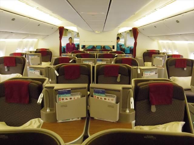 ガルーダインドネシア航空のビジネスクラスが快適 …